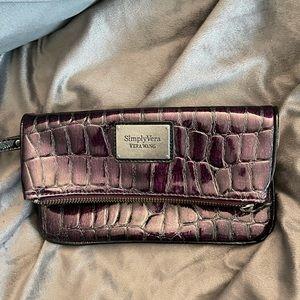 Simply Vera-Vera Wang High Gloss Clutch/Wristlet
